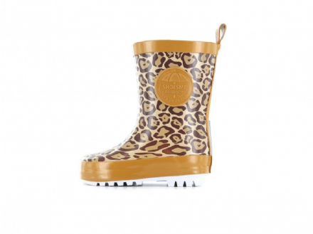 ShoesMe WELLIES with fleece sock (Leopard)